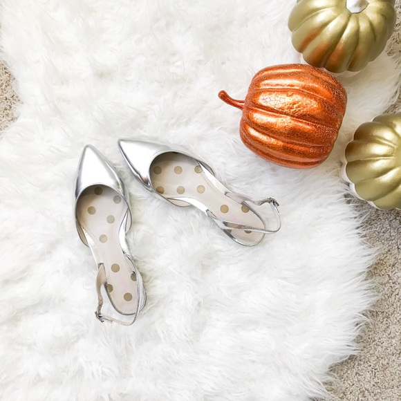 02c3114a1d3 Boden Shoes - Boden Hilary Slingbacks in Silver